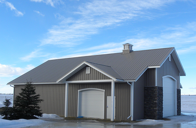 Post-Frame Acreage Building constructed in the Peace Region