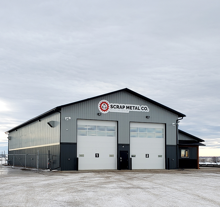 Industrial Building Constructed by Enframe Construction in the Peace Region