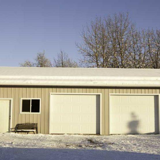 28'x30′ Garage