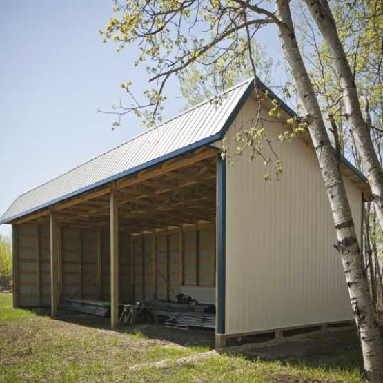 28′ x 48′ Hay Shelter
