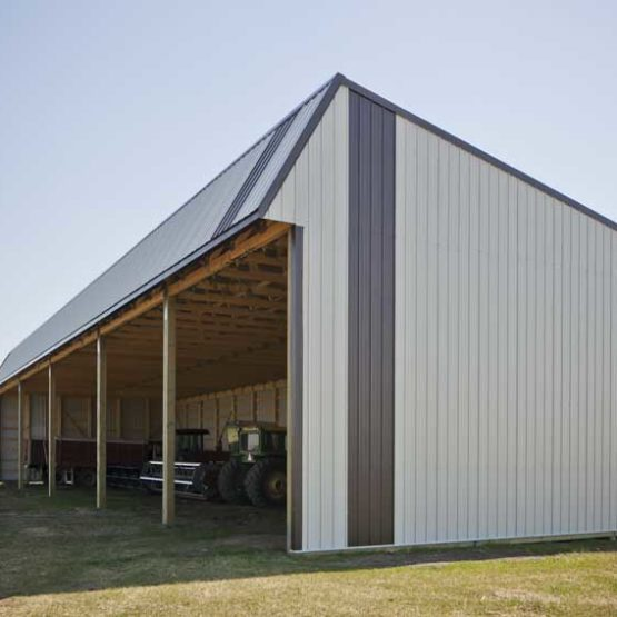 32'x120′ Hay Shelter