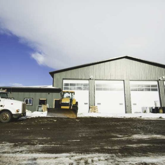 80'x140′ Shop & 4200 SQ FT Office Space